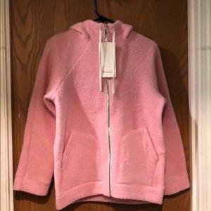 "Pink,""So Sherpa Hooded Jacket"" by Lululemon"